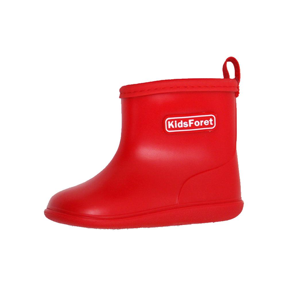 Kids Foret| 兒童雨鞋 紅色