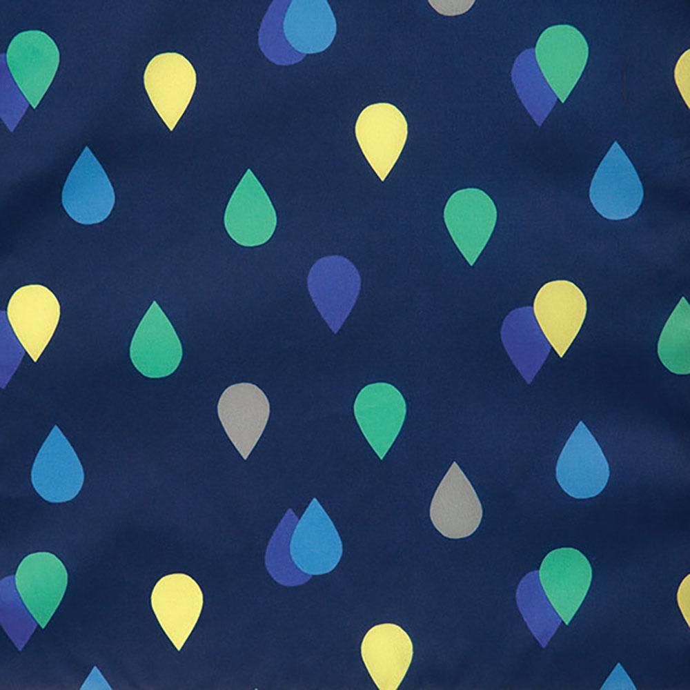 WPC|空氣感兒童雨衣 藍雨滴(120-140cm)