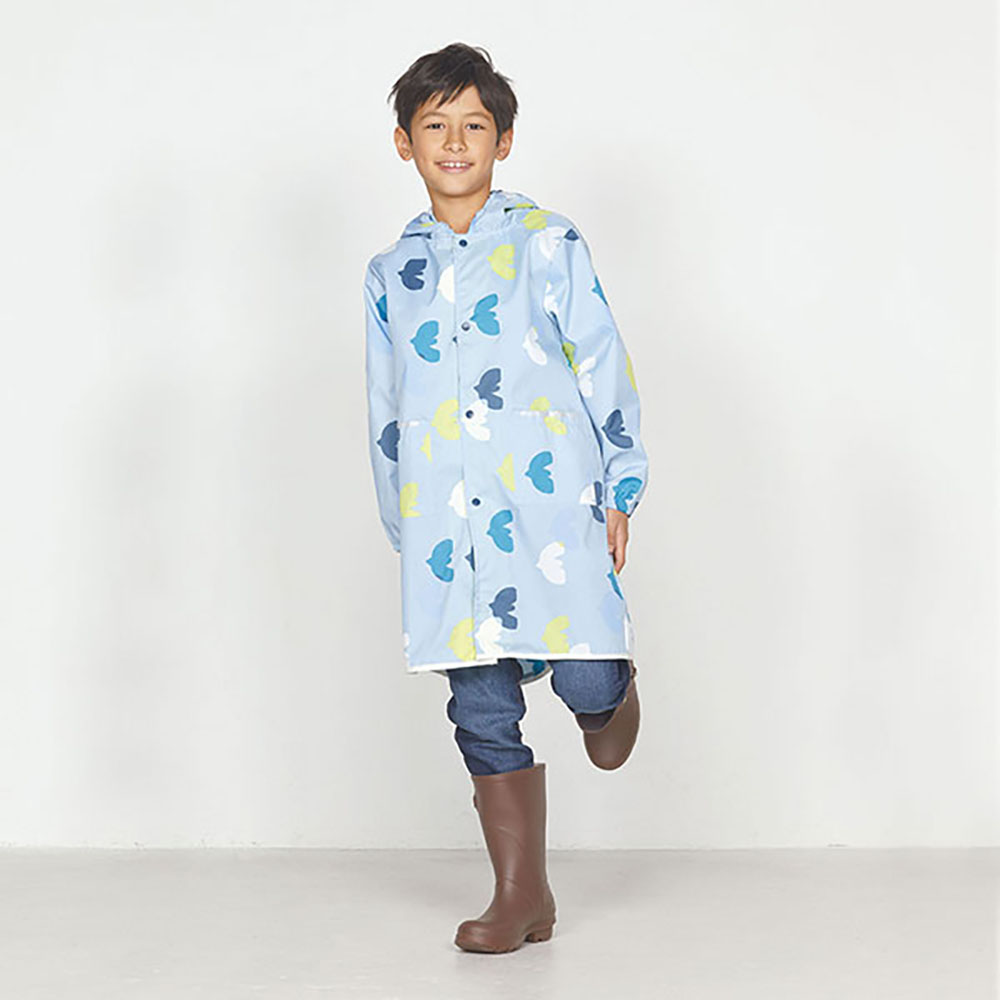WPC|空氣感兒童雨衣 悠遊鳥(95-120cm)