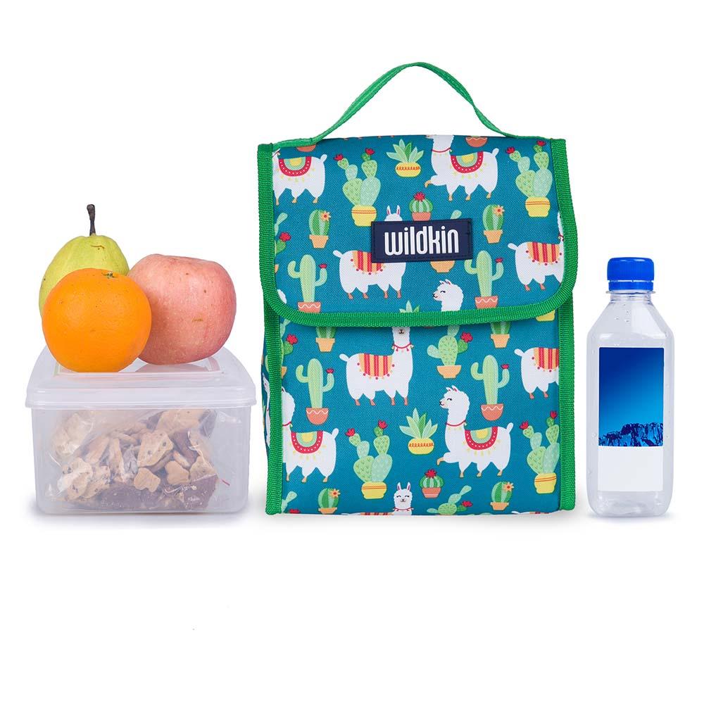 Wildkin|直立式午餐袋  羊駝與仙人掌