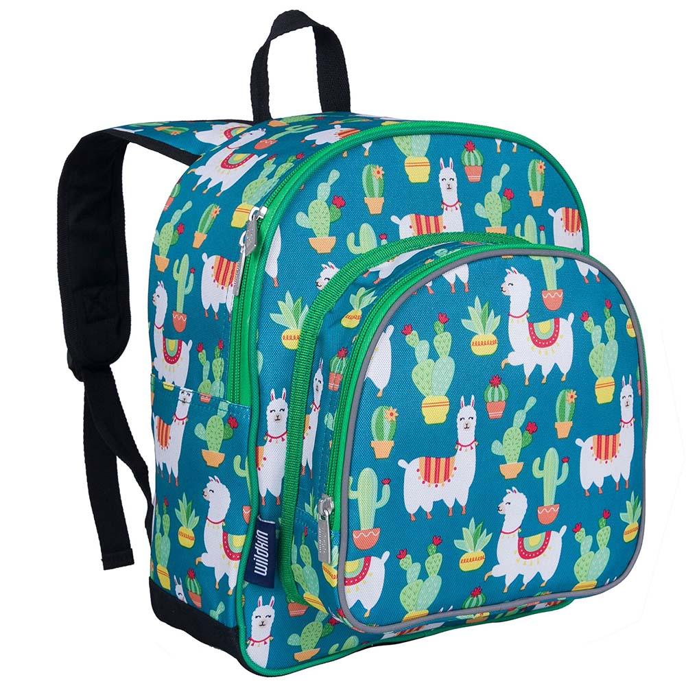 Wildkin|幼稚園新鮮人書包 羊駝與仙人掌
