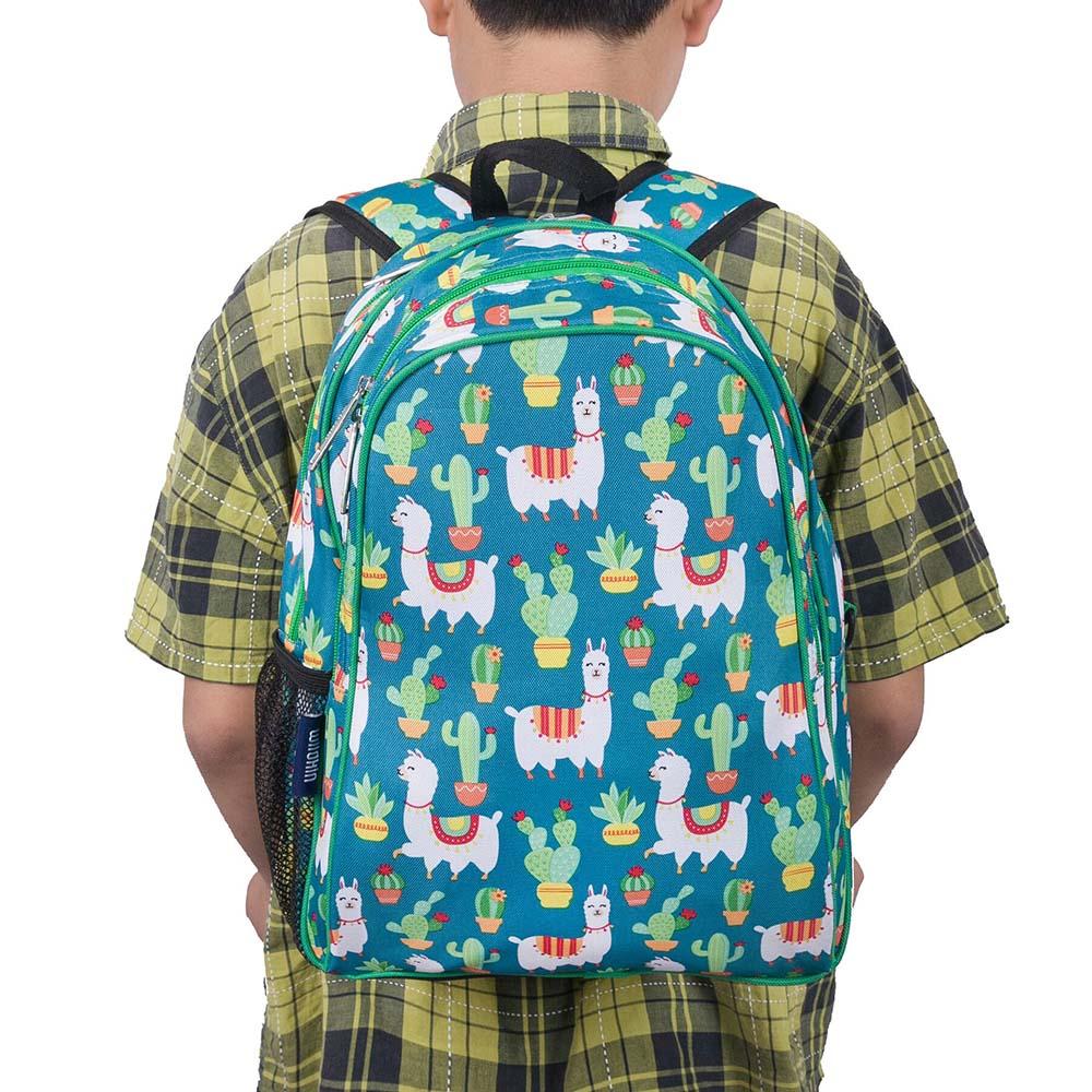 Wildkin|兒童後背包 羊駝與仙人掌