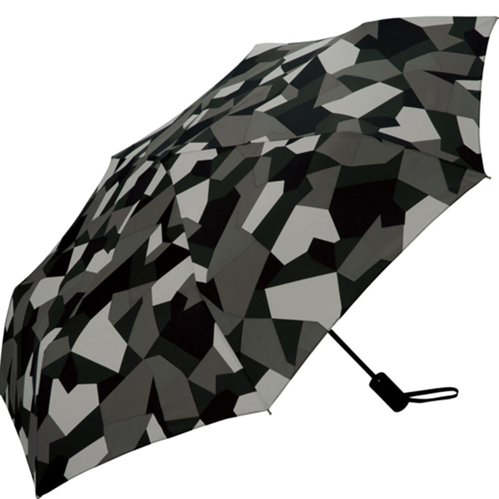 KiU| 自動開合雨傘/抗UV陽傘  抽象迷彩