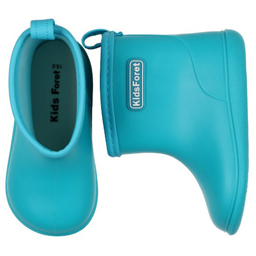 Kids Foret|兒童雨鞋 水藍色