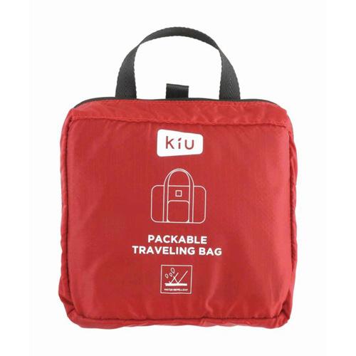 KiU 黑色 高機能空氣感 防潮防水 隨身旅行袋