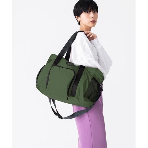 KiU|軍綠色 高機能空氣感 防潮防水 隨身旅行袋