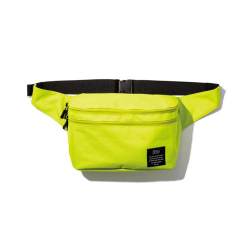 KiU|螢光黃 2用隨身包單肩包 游泳袋