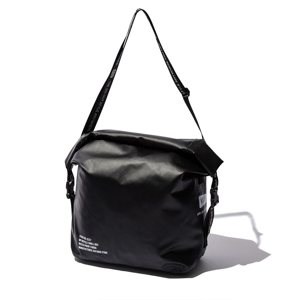 KiU|黑色 防水自行車斜背包 四用包