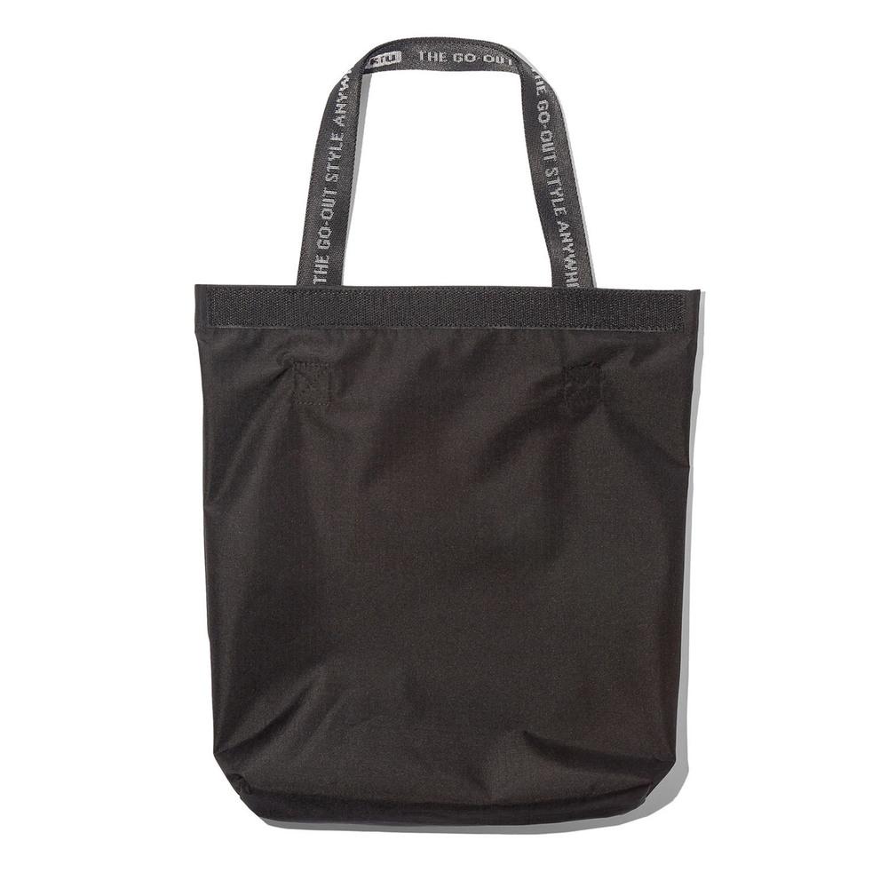 KiU|黑色 籃網托特包 一包變兩包 防水三用瞬間變化