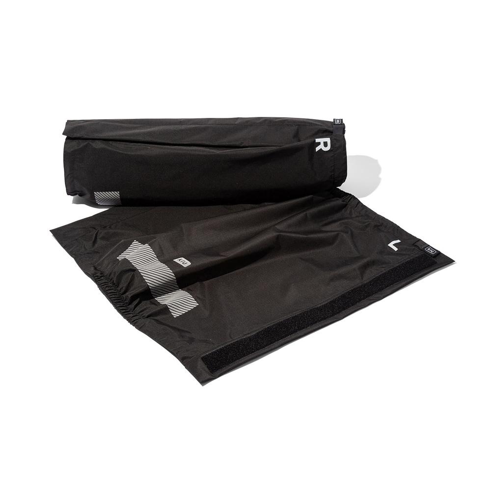 KiU|黑色 輕巧防水腿套 附收納袋(男女適用)