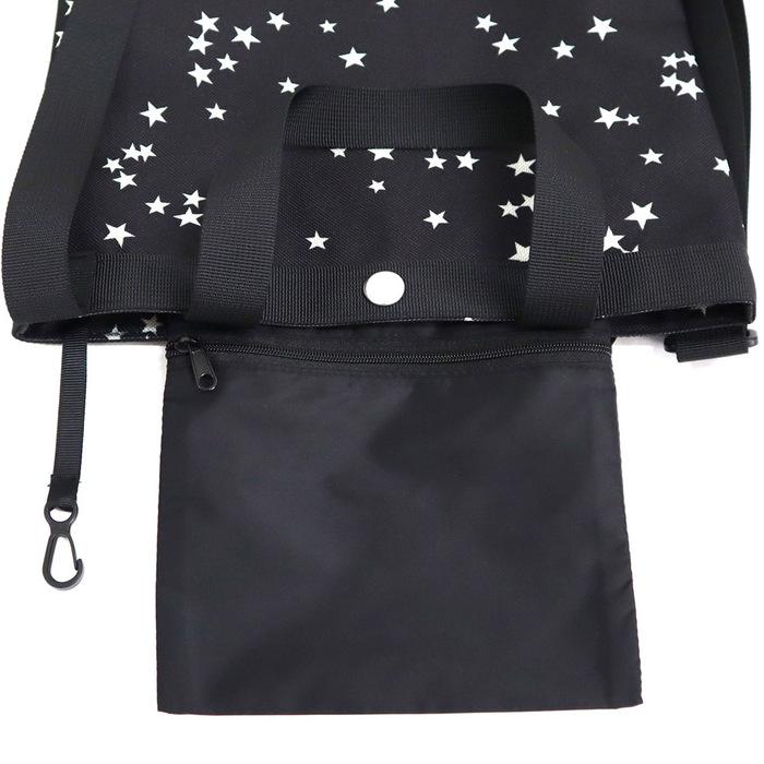 (複製)KiU 黑色 籃網托特包 一包變兩包,防水三用瞬間變化