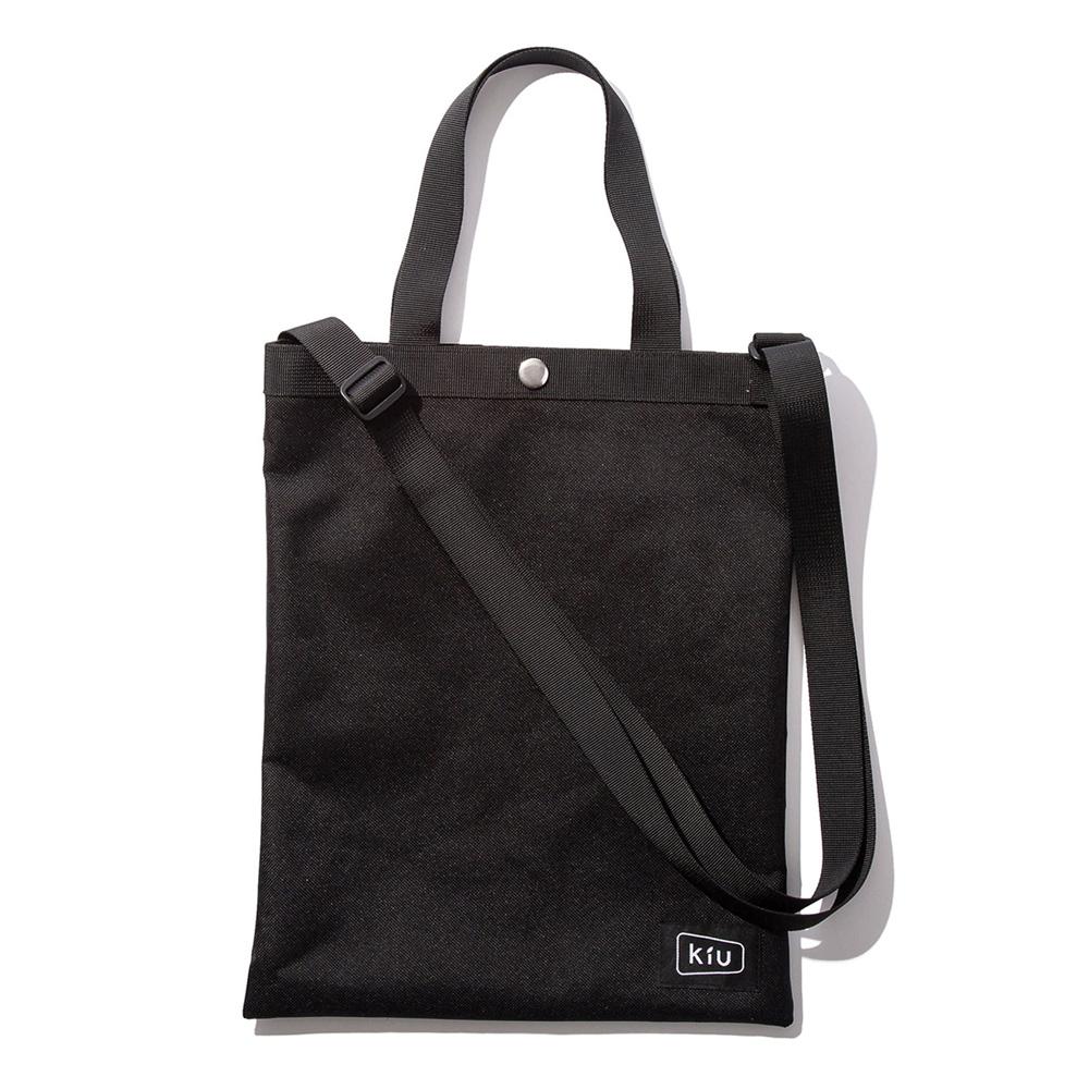 KiU 黑色 Sakosh 隨身斜背包 超輕 可裝A4