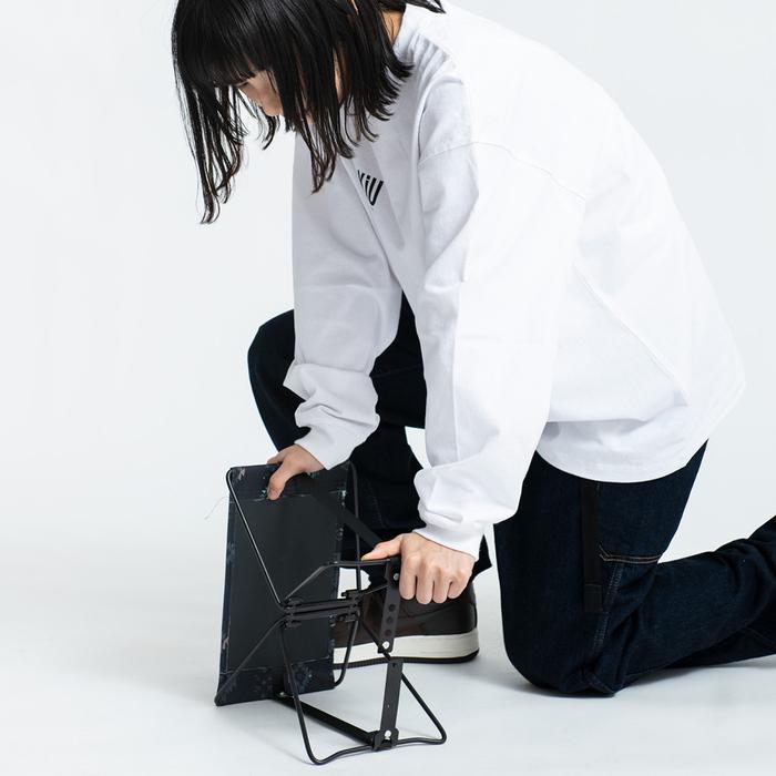 (複製)KiU 黑色 抗UV透氣防水裙 野餐巾 附收納袋