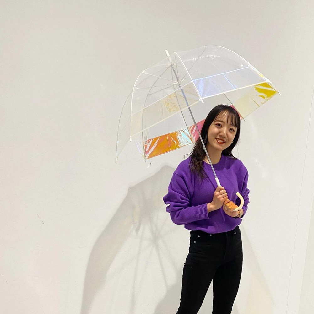 WPC 白皙海境風色 極光鳥籠傘 IG話題焦點網美傘
