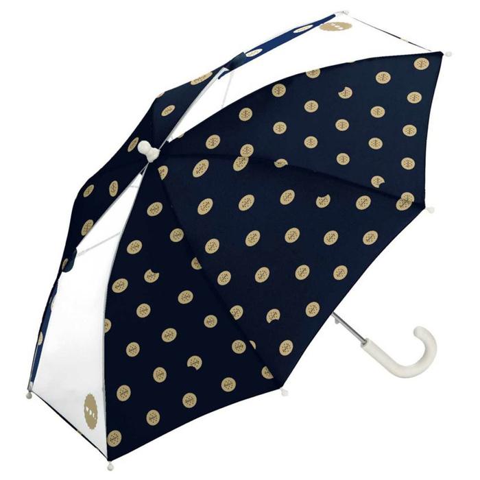 WPC 餅乾世界 兒童雨傘 透明視窗 安全開關傘