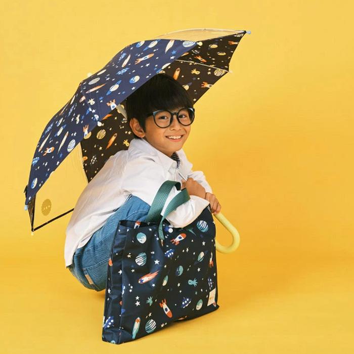 (複製)WPC|餅乾世界 兒童雨傘 透明視窗 安全開關傘