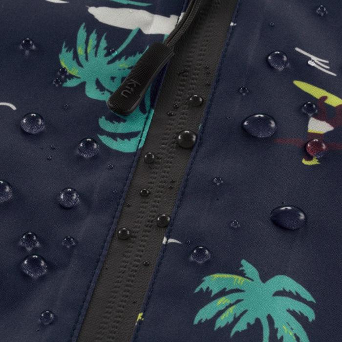 (複製)KiU 黑色 空氣感長袖雨衣- 附收納袋(男女適用)