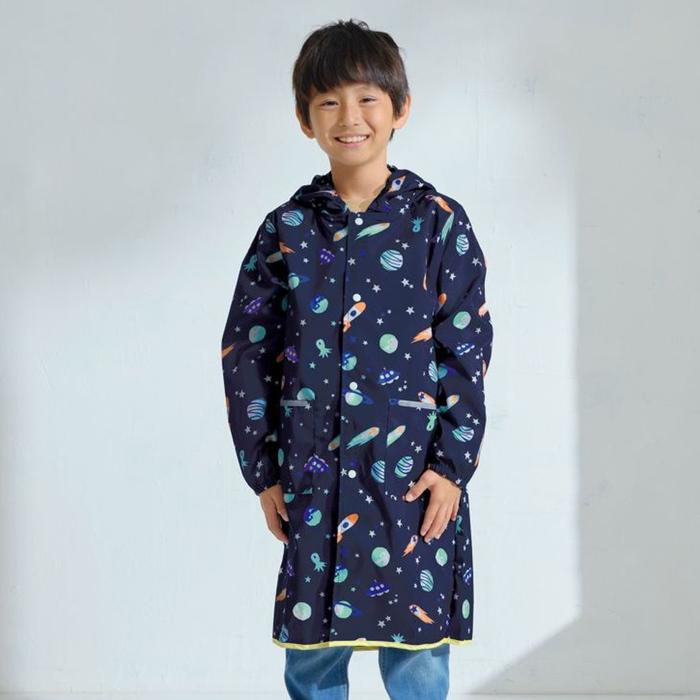 (複製)WPC 空氣感兒童雨衣 克拉拉花朵(95-120cm)
