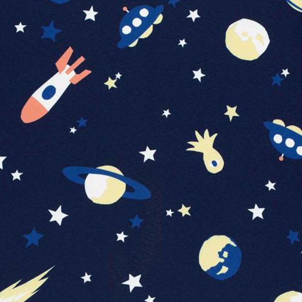 WPC 空氣感兒童雨衣 太空探險(95-120cm)