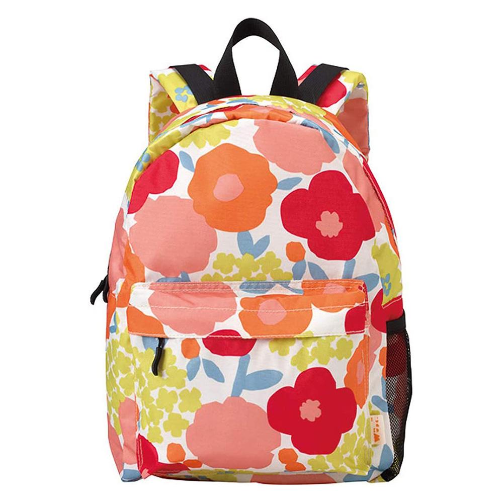 WPC 克拉拉花朵 輕便防潑水兒童後背包-M