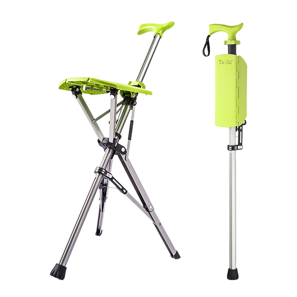 Ta-Da|泰達自動手杖椅(萊姆綠)-100kg