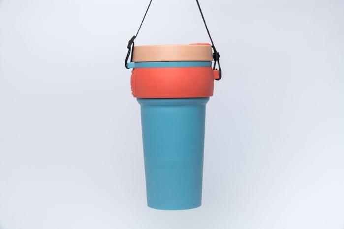 【預購】WAYCUP 威客杯│環保伸縮杯 (退紅)