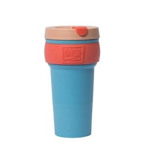 【入倉品】WAYCUP 威客杯│環保伸縮杯 (珊瑚藍)