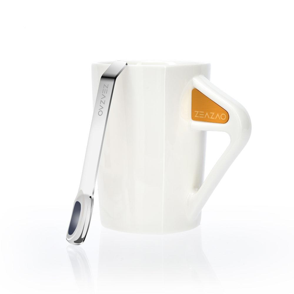 致造ZEAZAO|致在杯 強磁吸附帶勺馬克杯-450ml