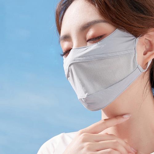 WODONBLE 冰絲透氣防曬口罩 (三色任選)