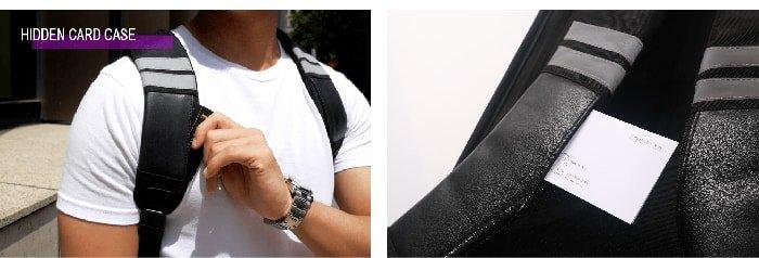 (複製)SHIELD|科技時尚 搖滾音響防盜後背包-黑暗騎士
