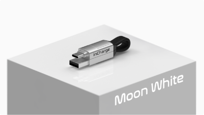 【預購】inCharge 6 |世界最小的軍規級六合一傳輸線 (MAX加長版 / 太空灰)