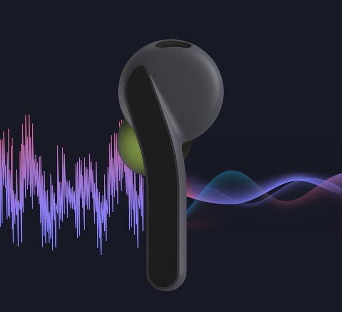 Rolling Square   高音質重低音真無線藍牙耳機 (火焰紅)