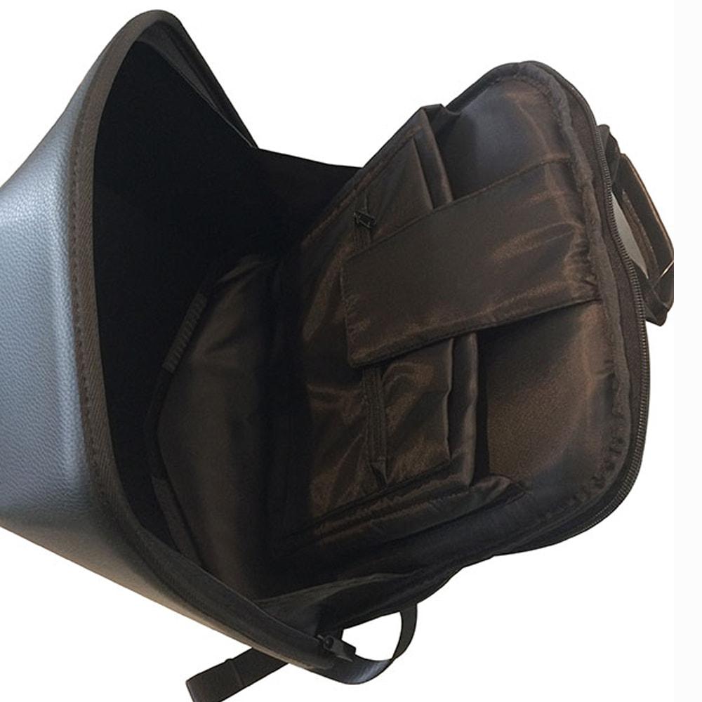 SHIELD 科技時尚 搖滾音響防盜後背包-黑暗騎士