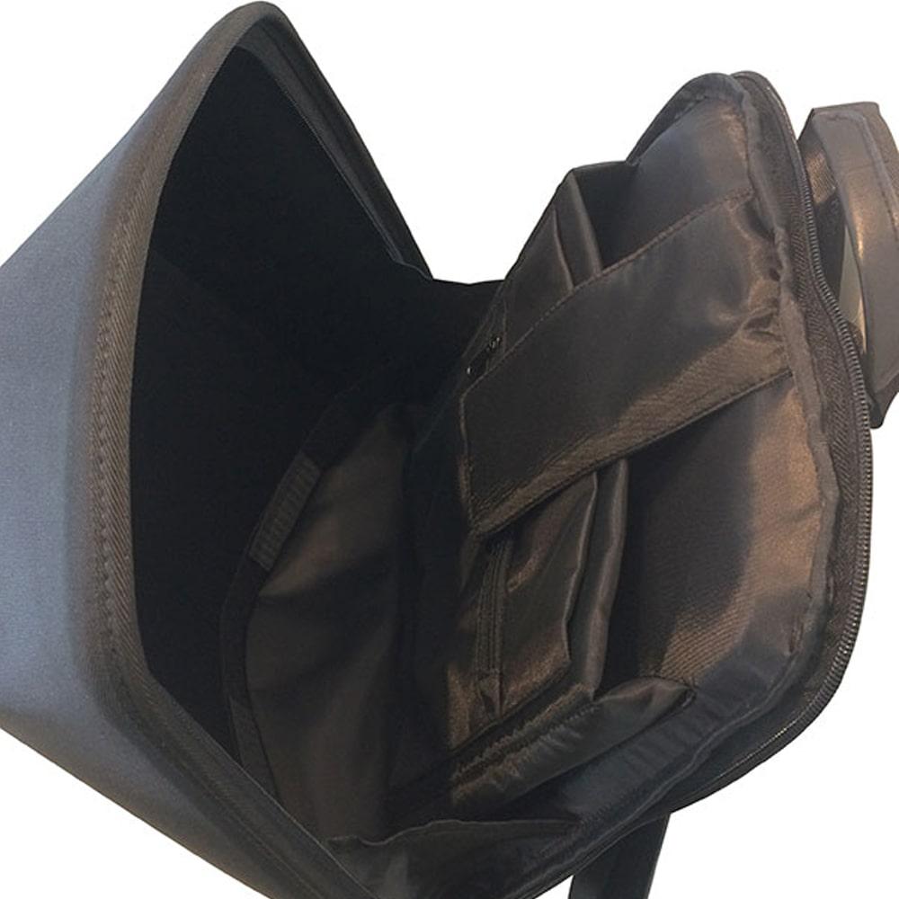 SHIELD 科技時尚 搖滾音響防盜後背包-幻影黑