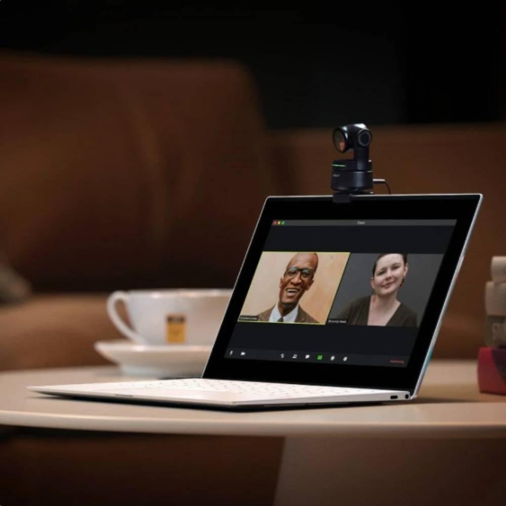 OBSBOT Tiny AI 人臉辨識 PTZ 自動追蹤視訊網路攝影機 (商務套組)