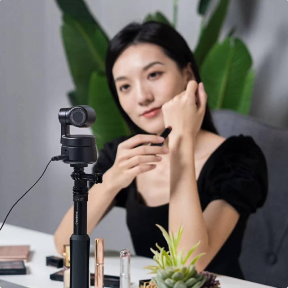 AI人臉辨識與人物自動追蹤的PTZ網路攝影機【OBSBOT Tiny 二代】商務視訊套組