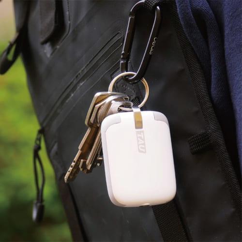 TAU|世界最小的三合一磁吸式鑰匙圈行動電源 (幻影白)