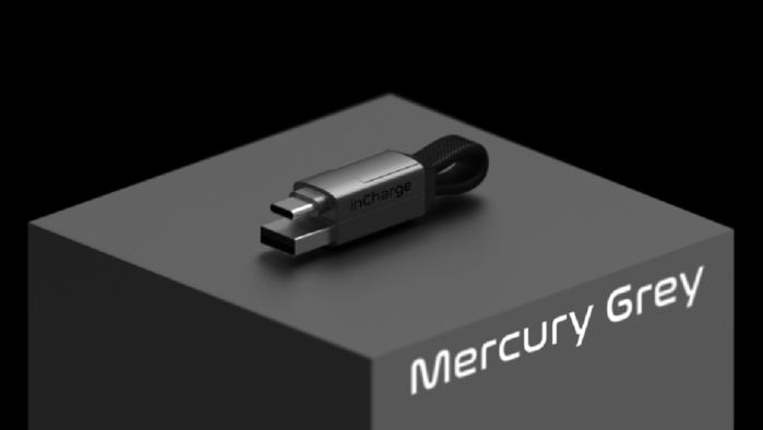 InCharge 6 世界最小的軍規級六合一傳輸線(隨身版鍍鉻銀 兩入組)