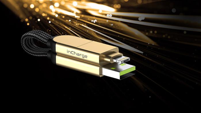 瑞士|inCharge X|60W極速快充,讓手機變主機的OTG六合一傳輸線(隨身版|蘋果專用快充版)