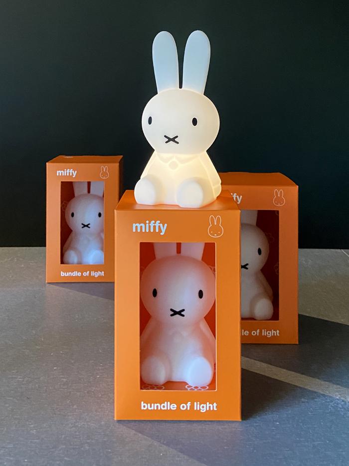 (複製)Mr Maria|Miffy First Light 米菲兔USB充電軟矽膠小夜燈