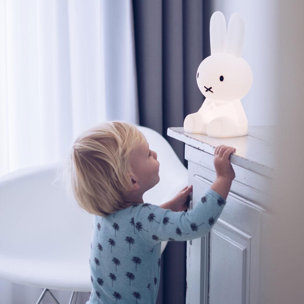 Mr Maria|Miffy First Light 米菲兔USB充電軟矽膠小夜燈