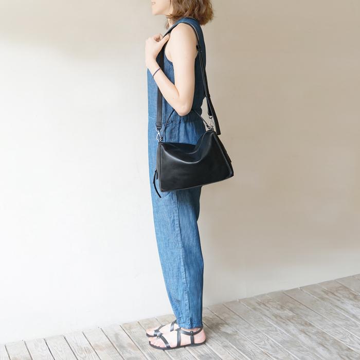 Darker Than Black Bags|DTB Valley Cube Shoulder Bag 單肩包(黑)