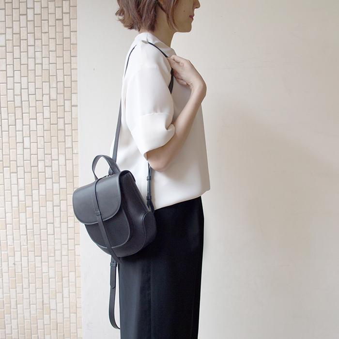 (複製)(SAMPLE)Darker Than Black Bags Isosceles Triangle Hobo Bag 等腰三角Hobo包