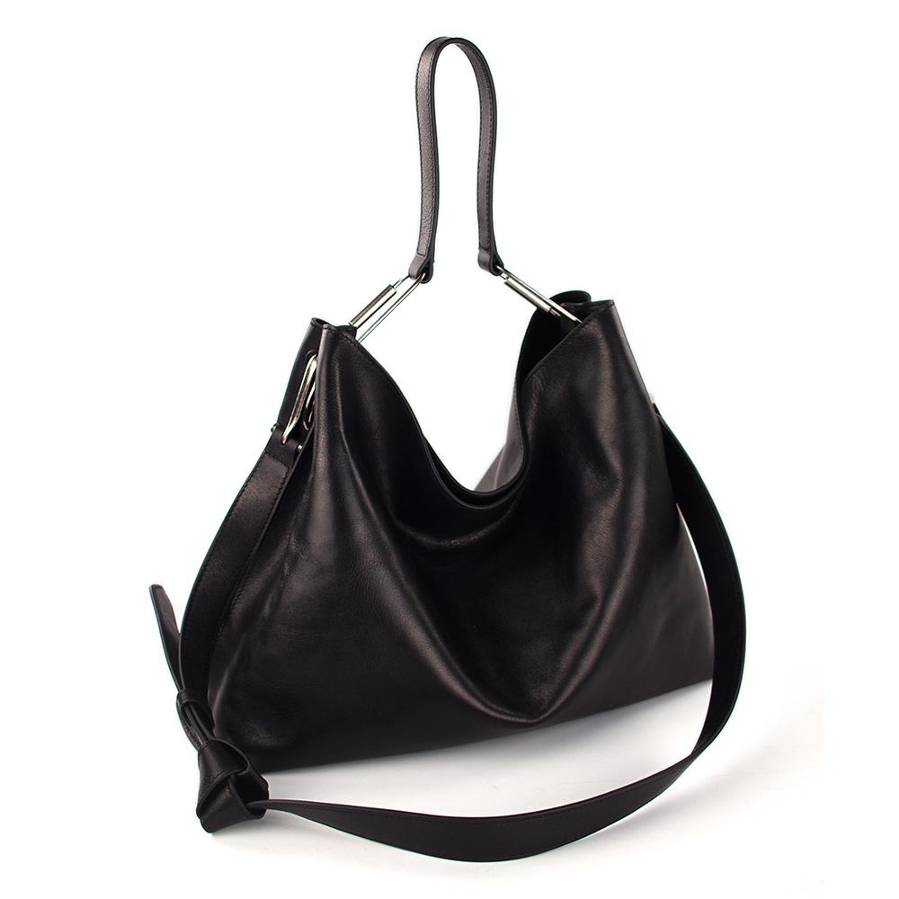 Darker Than Black Bags|Valley Hobo Bag 單肩Hobo包(黑)