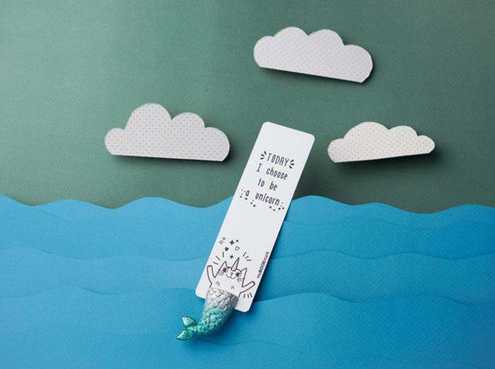 (複製)烏克蘭myBookmark|夢幻美人魚寶貝