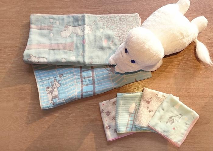 (複製)日本丸真|Moomin刺繡毛巾-家庭