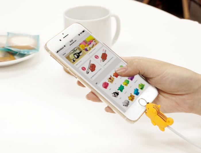 (複製)Dreams|慵懶動物園-iphone專用咬線器-牙齒痛鯊魚