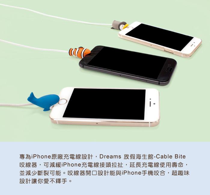 (複製)Dreams|慵懶動物園II-iphone專用咬線器-迷你笨松鼠