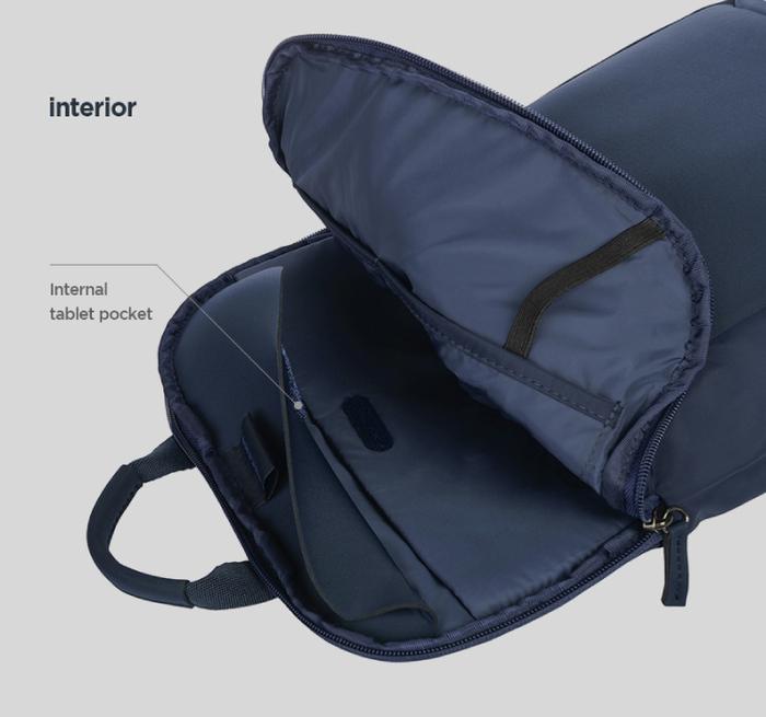 TUCANO|超輕量商務式筆電後背包-黑色