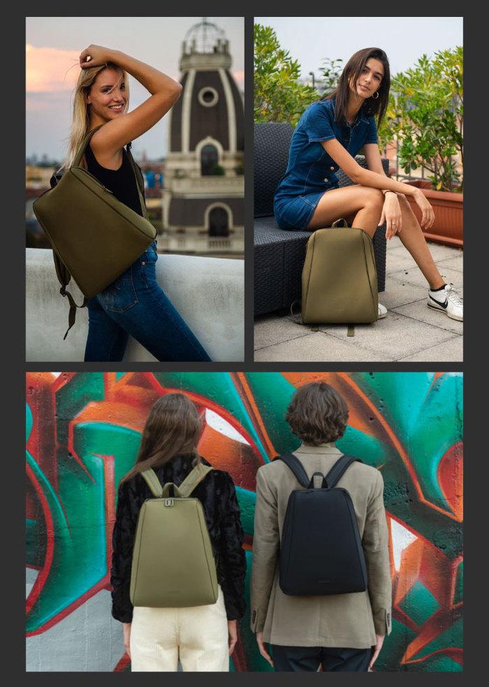 (複製)TUCANO|超輕量防潑水撞色系休閒後背包-黃色